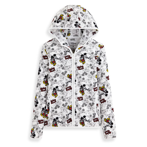 Fleece迪士尼系列連帽外套-女