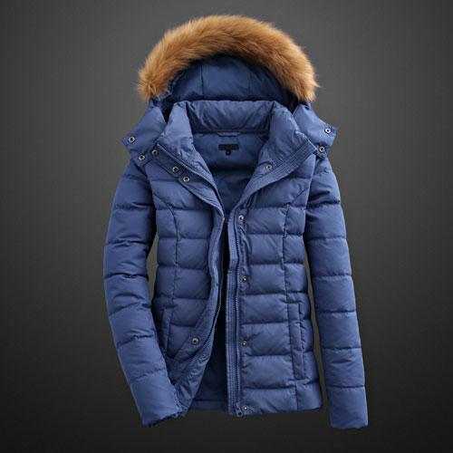 極暖簡約羽絨外套-女