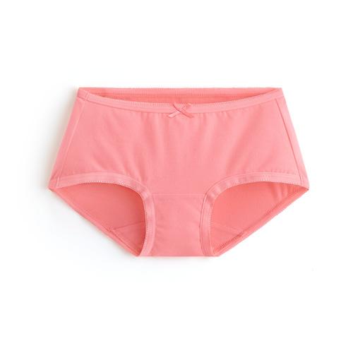 棉質低腰平口褲-女