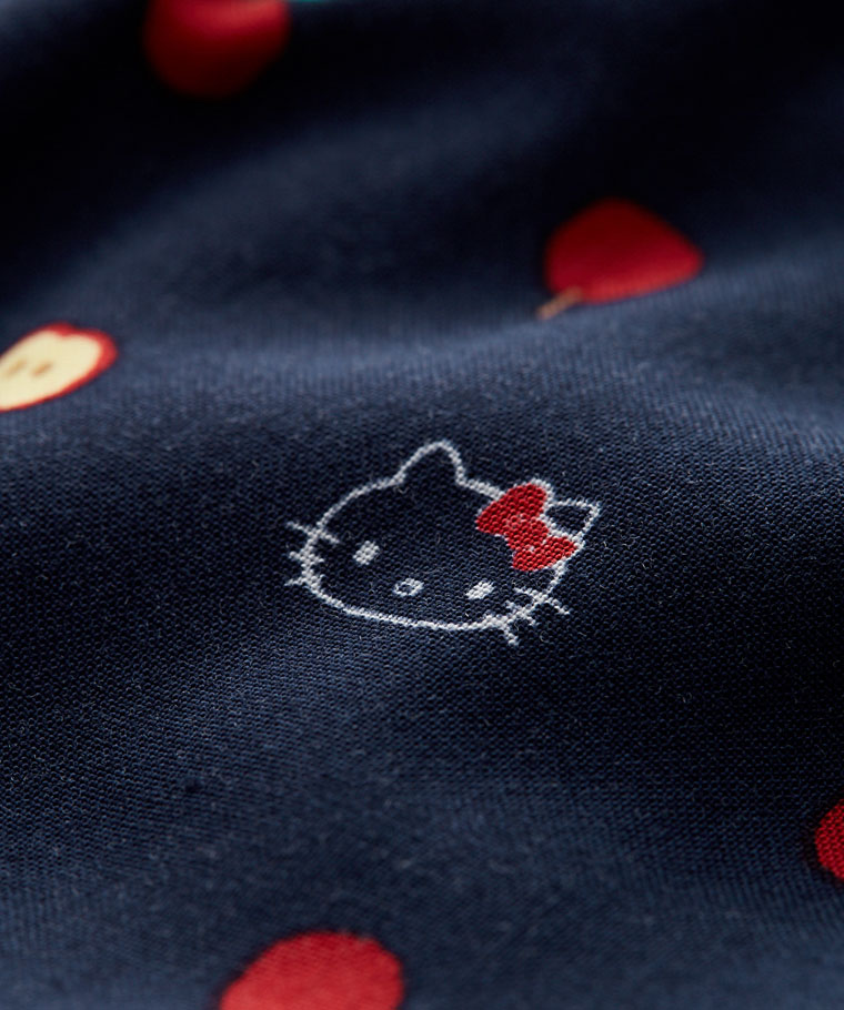 Hello Kitty寬版長褲-女
