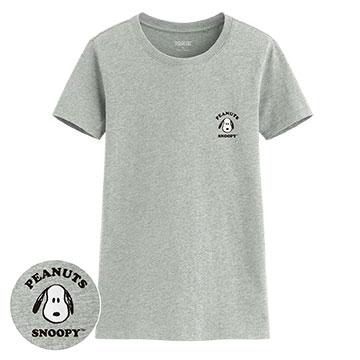 史努比印花T恤-05-女