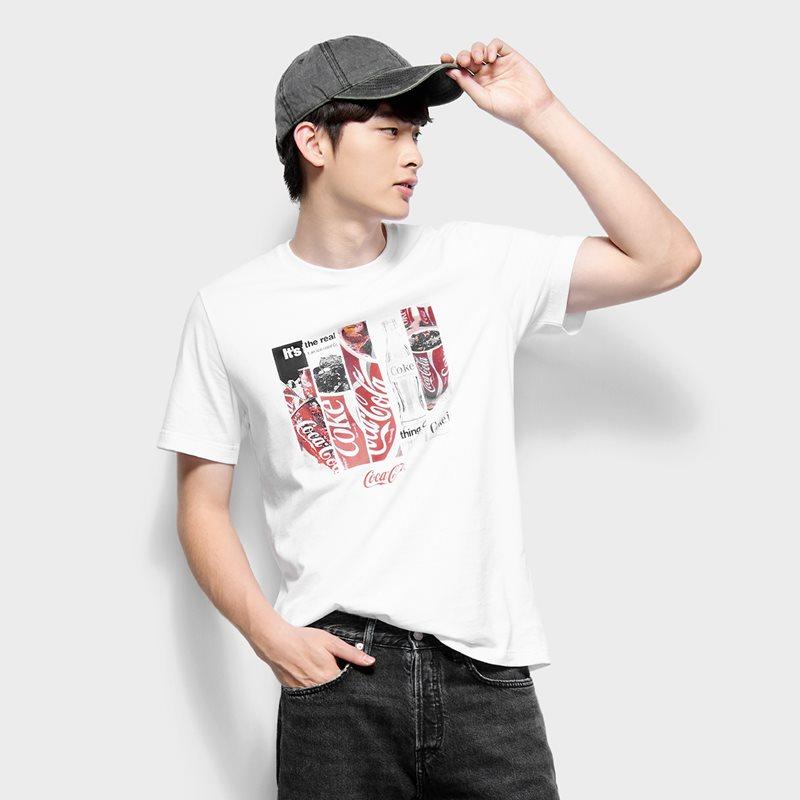 可口可樂印花T恤-02-男
