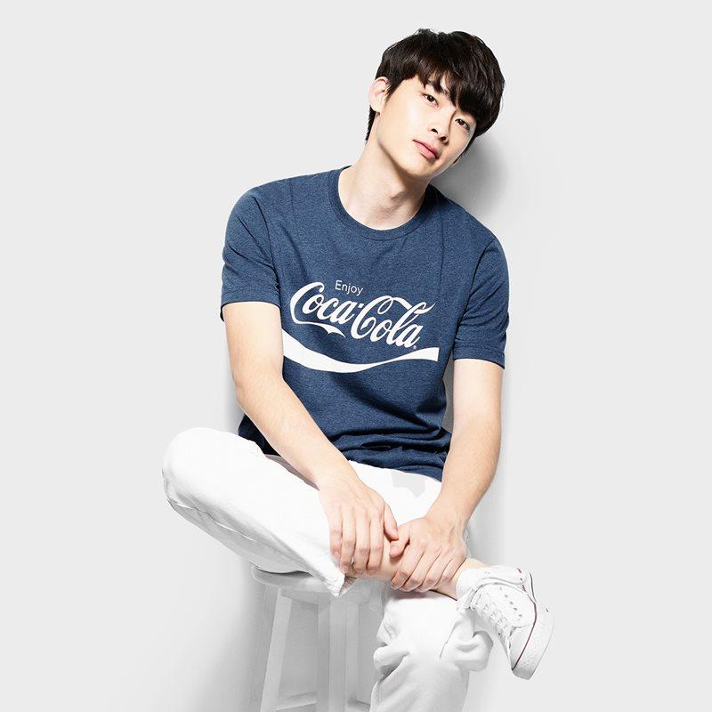 可口可樂印花T恤-07-男