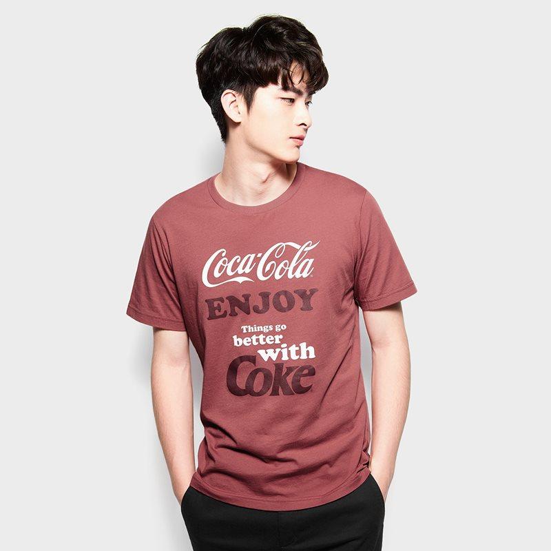 可口可樂印花T恤-06-男