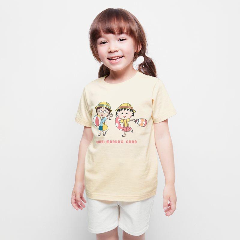 櫻桃小丸子印花T恤-09-童